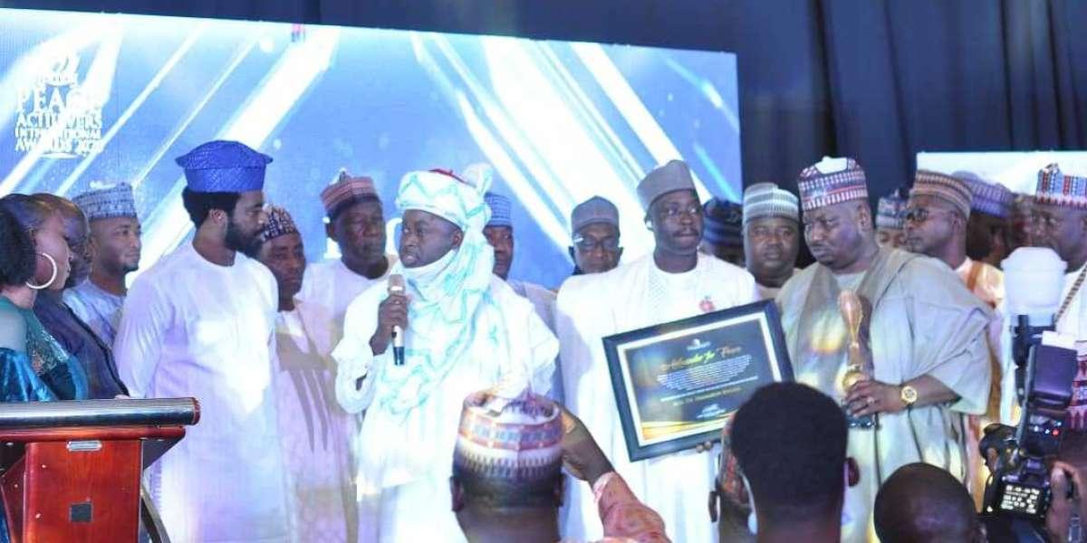 2020 Peace Achievers Awards Honour Gov. AA Sule, Gov. Ganduje, Gov. Yahaya Bello, Justice Malami, Hon. Manir, Others