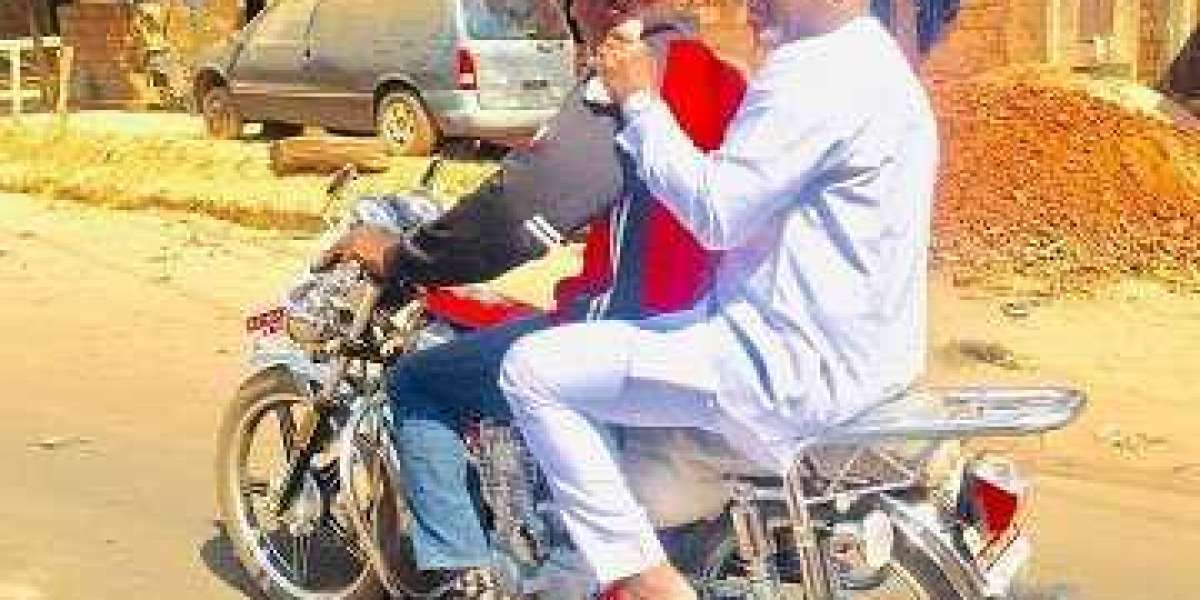 Abba Morro Rides Okada To Daughter's Wedding