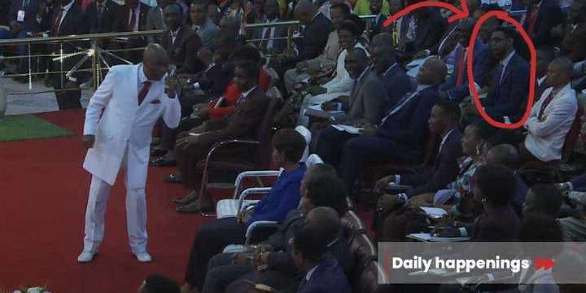 Biodun Fatoyinbo Spotted At Shiloh 2020, Nigerians React(Photos)